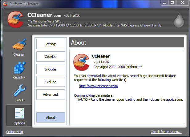 ccleaner command line parameters