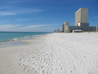 Panama City Beach looking West